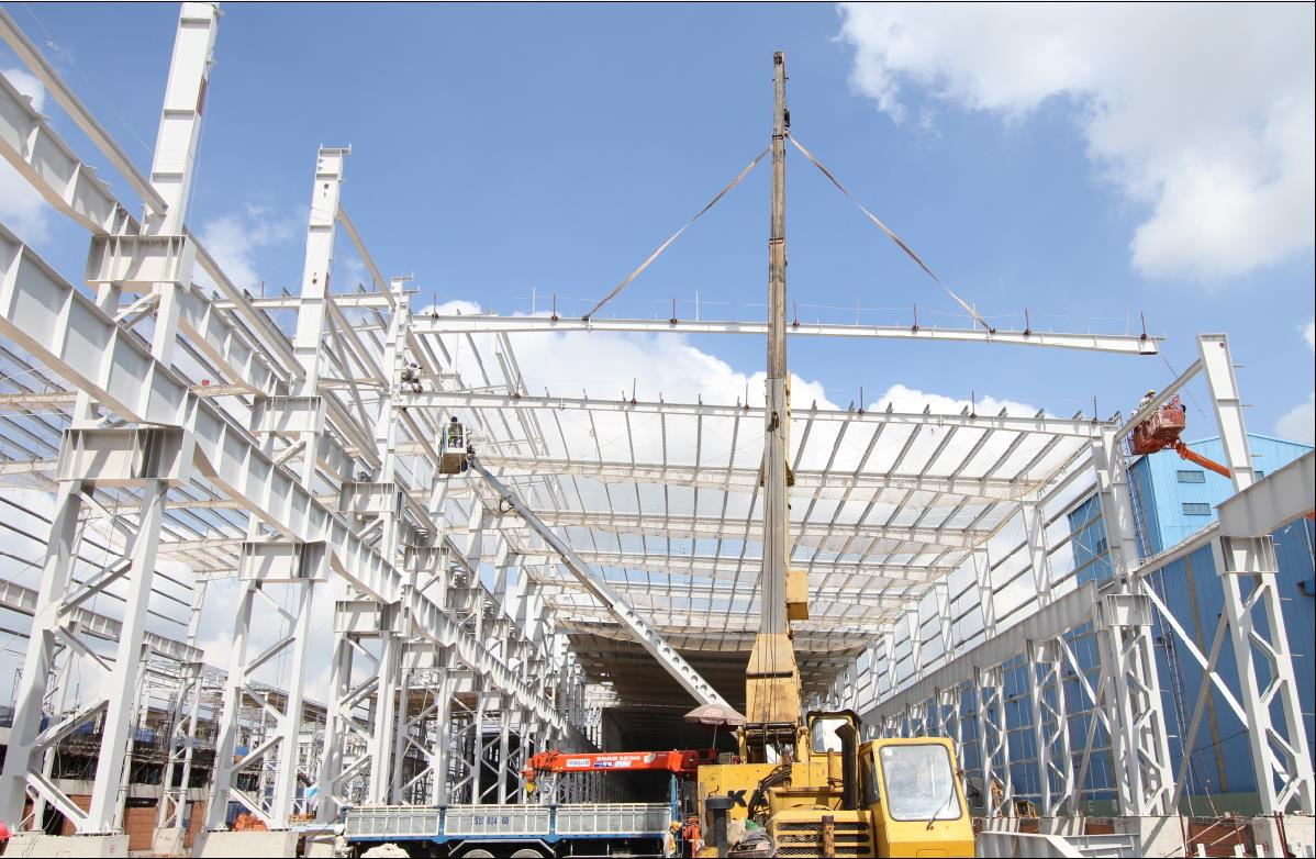 Pre-Engineered Buildings & Steel Structure Erection