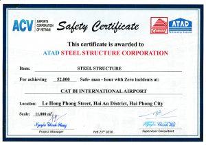 Catbi Safety Certificates