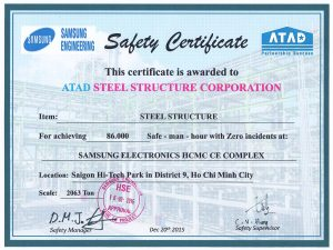 Samsung Safety Certificates