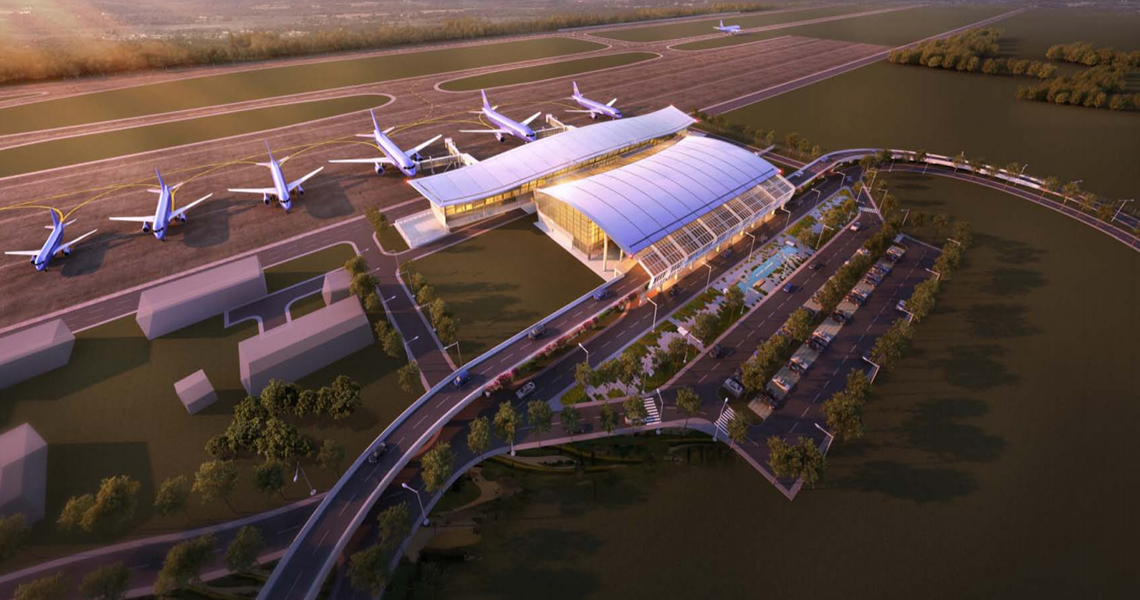 Construction Of Passenger Terminal - Cat Bi International Airport