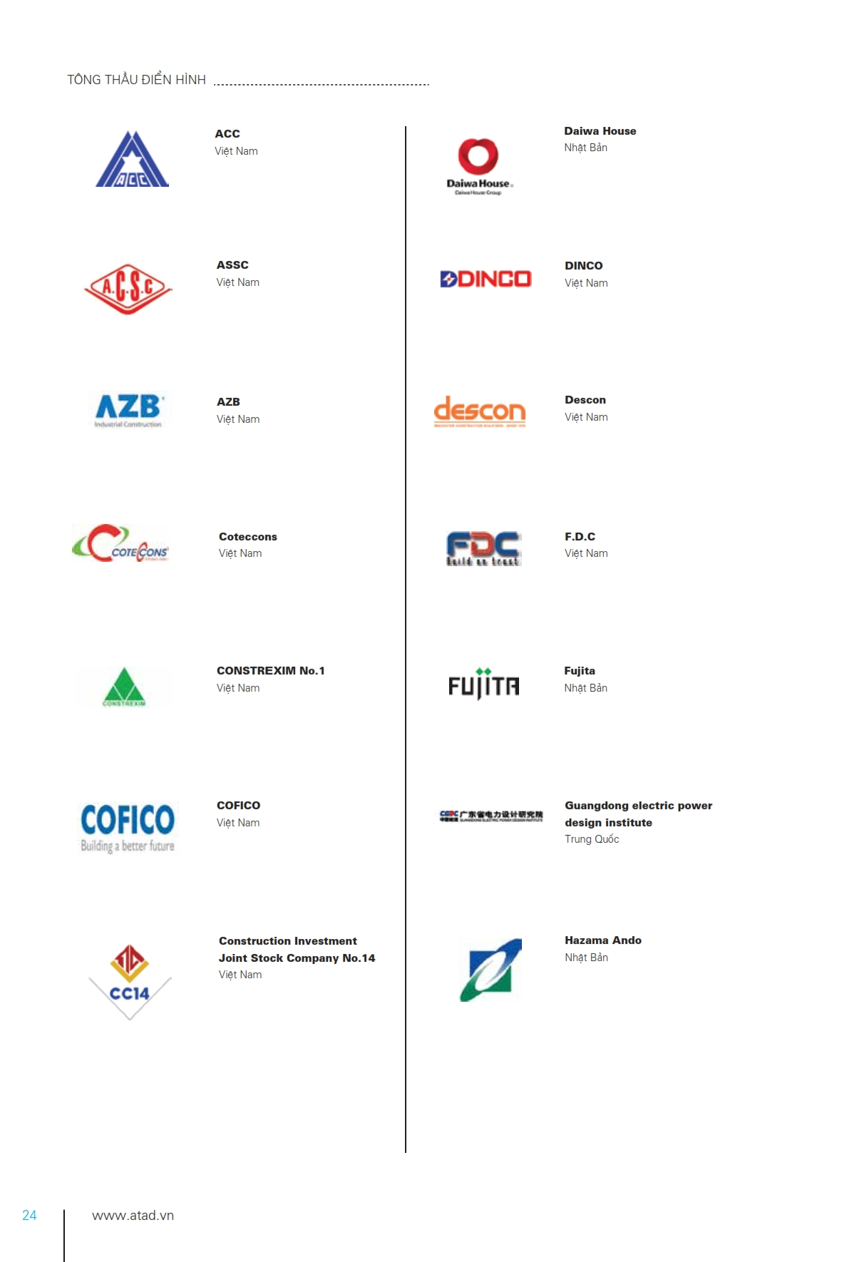 BROCHURE 2017-TV_024 - ATAD Steel Structure Corporation