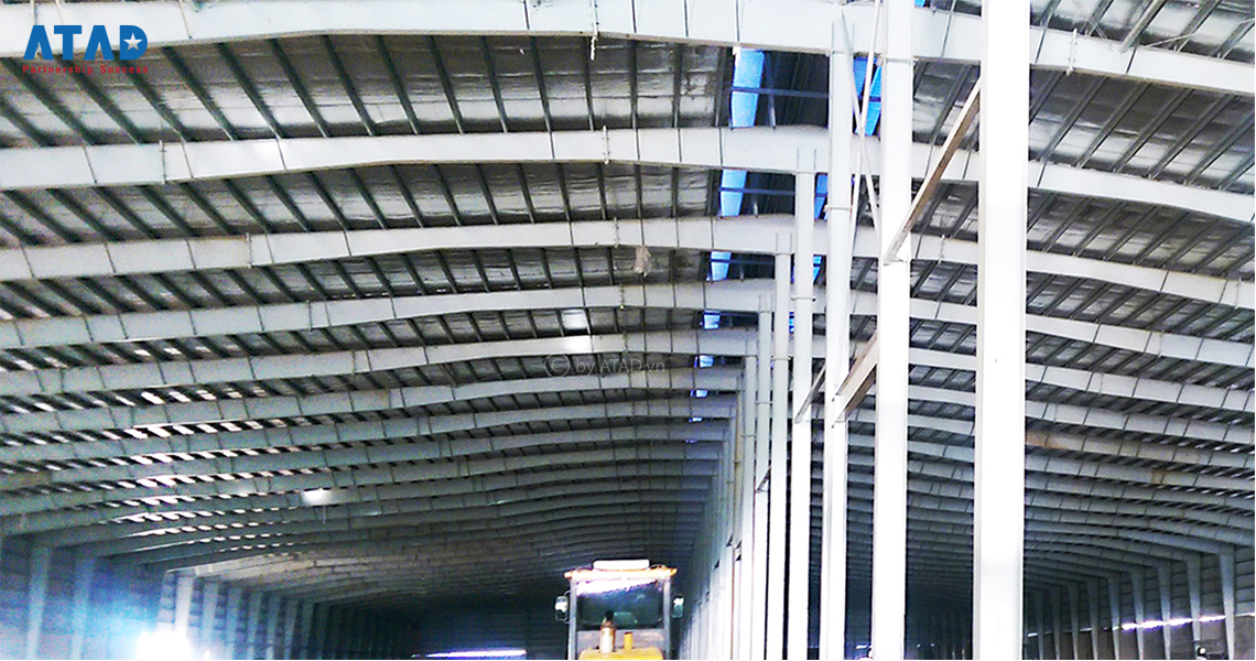 Lazada Warehouse - ATAD Steel Structure Corporation