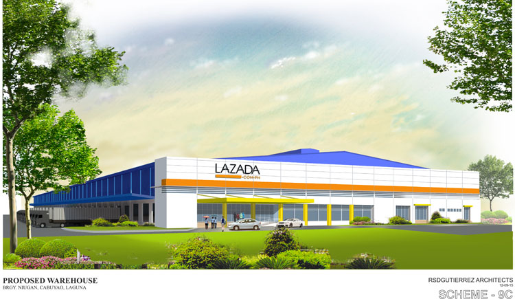 Lazada Warehouse