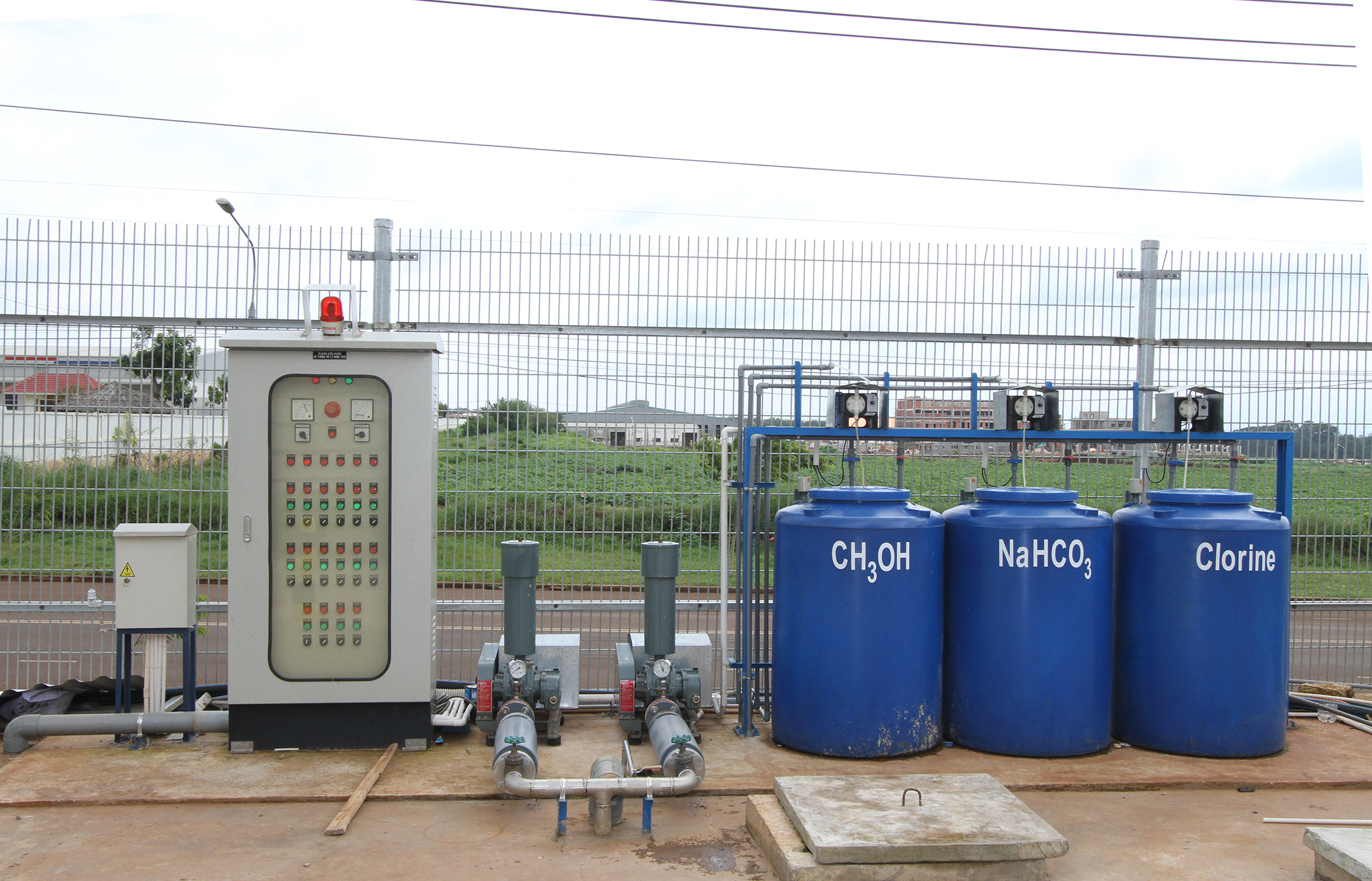 The water treatment station