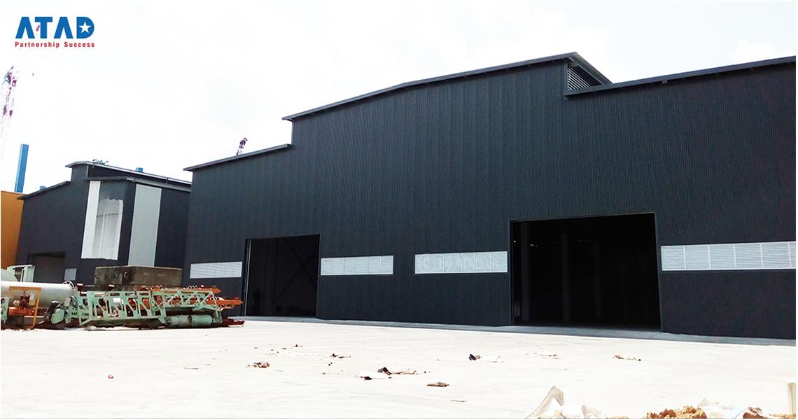 Crane manufacturing plant