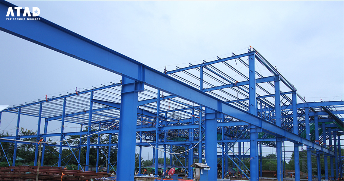 Steel Buildings, Steel Structure - ATAD Corporation