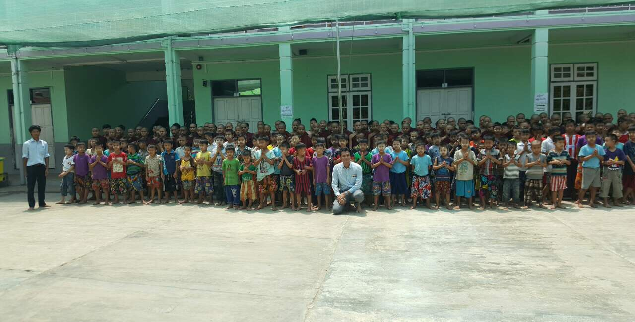 ATAD staff and children took photo together