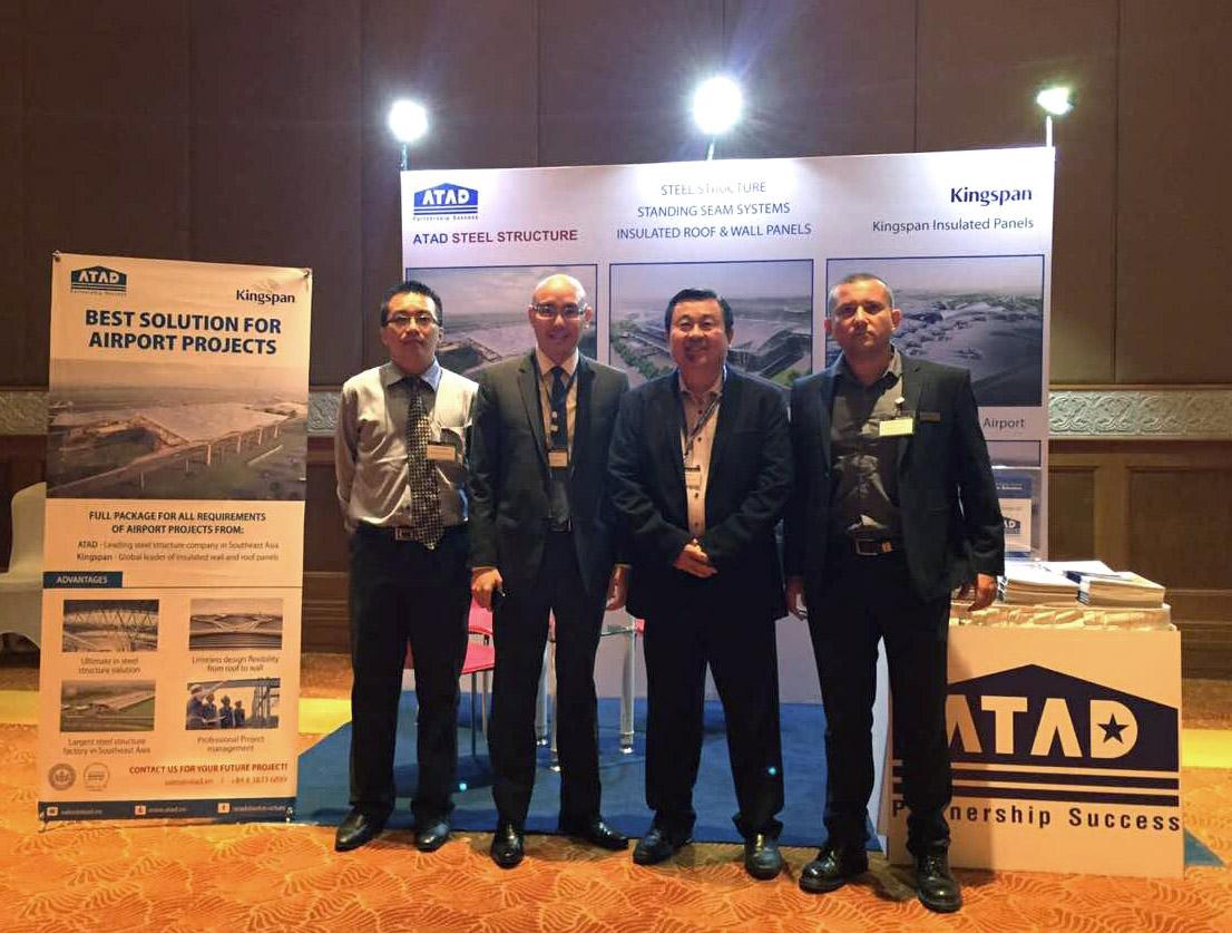 Đại diện ATAD và Kingspan tại Hội nghị cấp cao