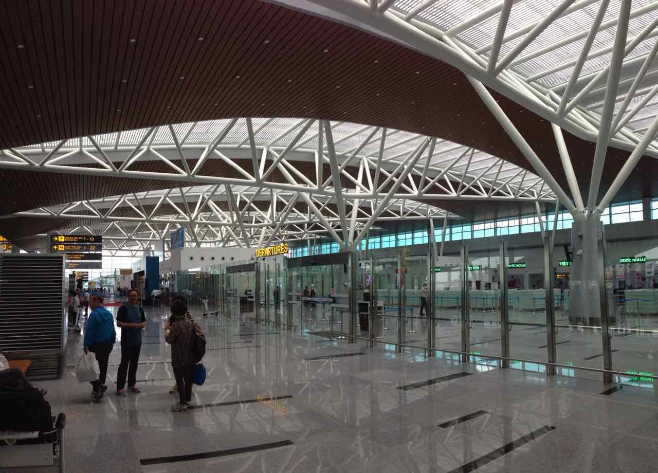 The new terminal is designed and equipped with modern facilities