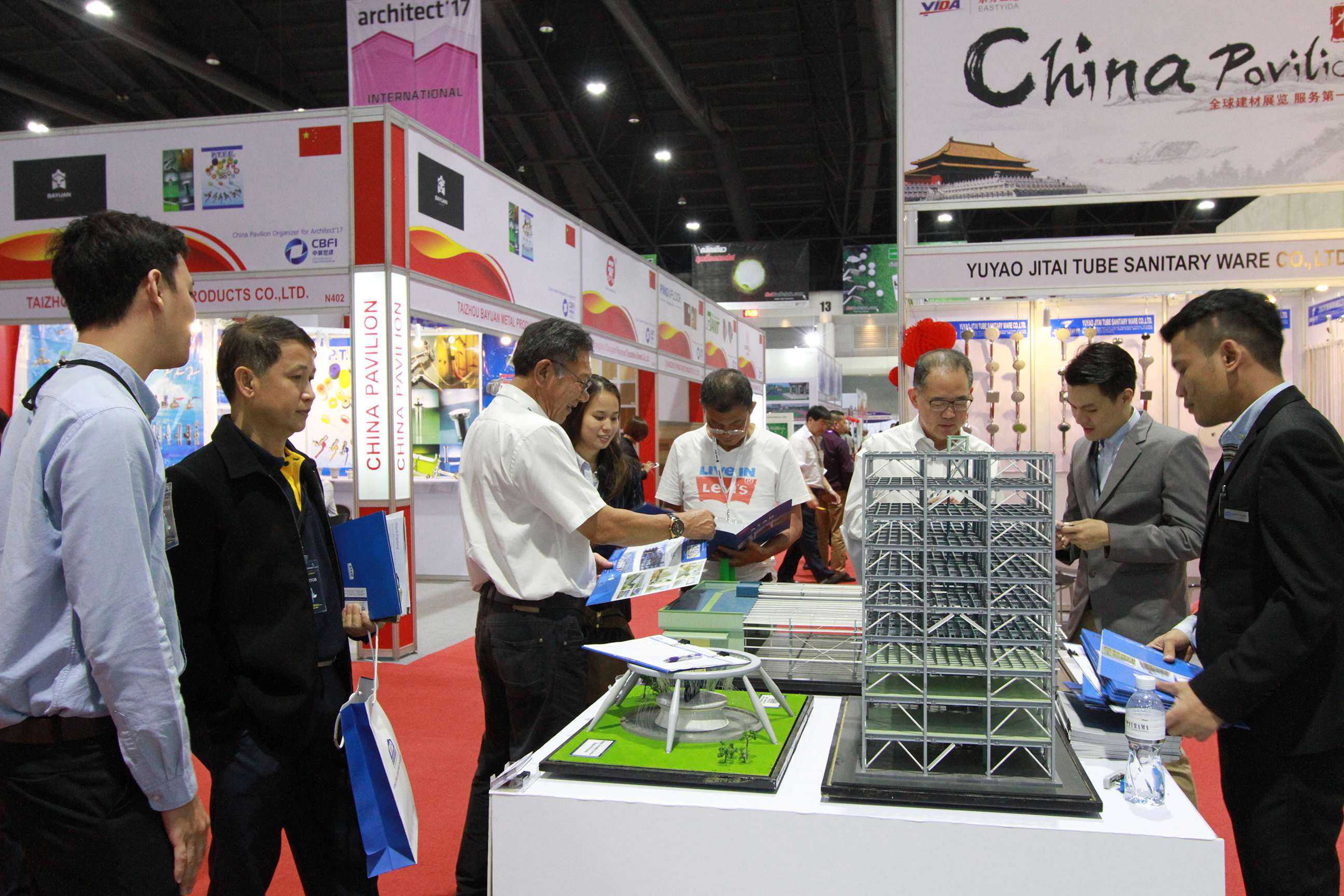 Our Thailand team offered visitors the professional consultancy for their projects