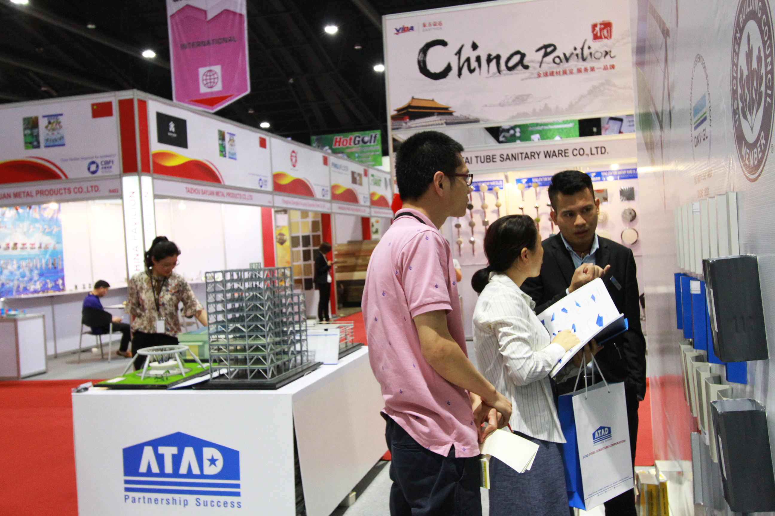 ATAD team answered questions about ATAD products and services 2