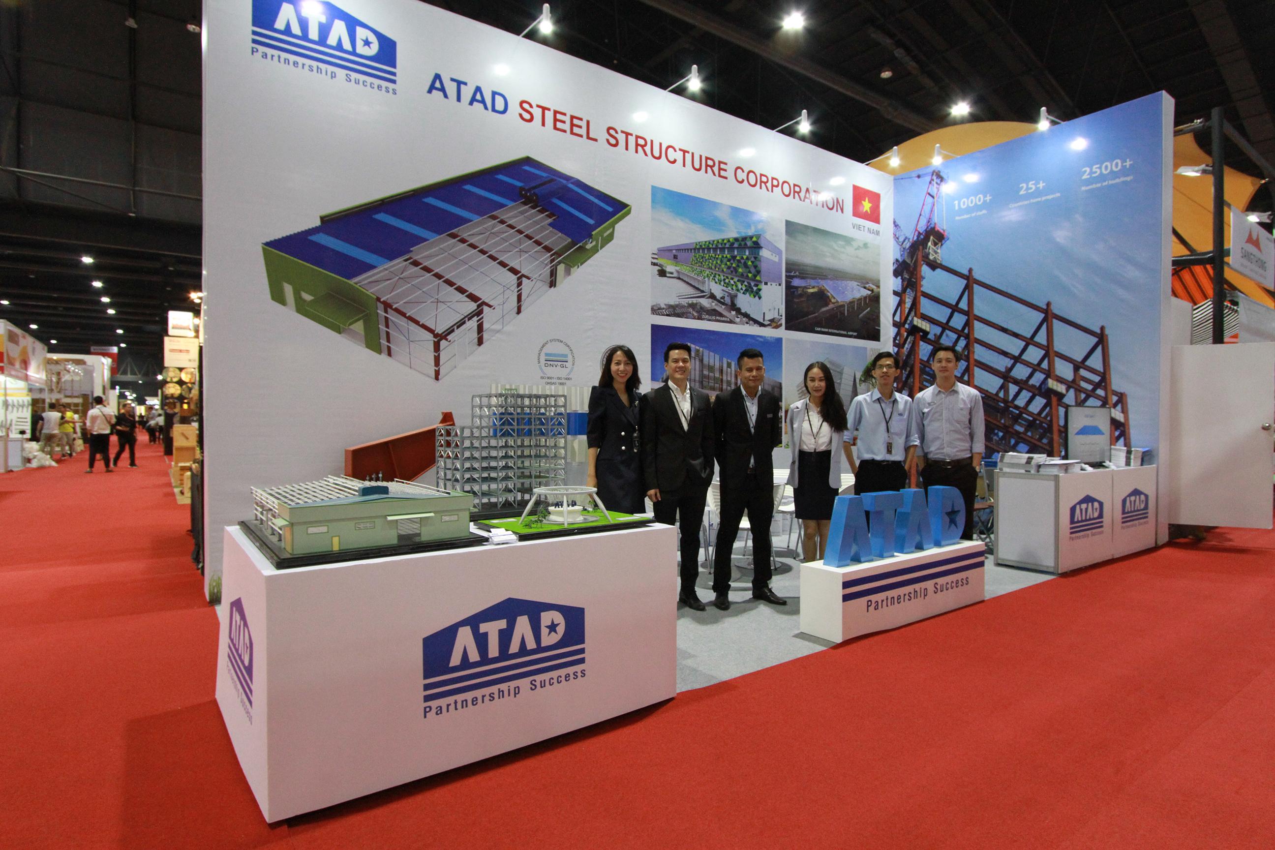 Đội ngũ nhân viên ATAD tại triển lãm Architect'17