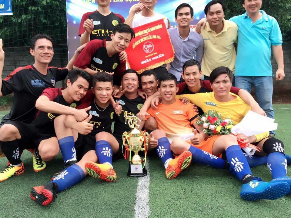 ATAD Dong Nai won the championship 2