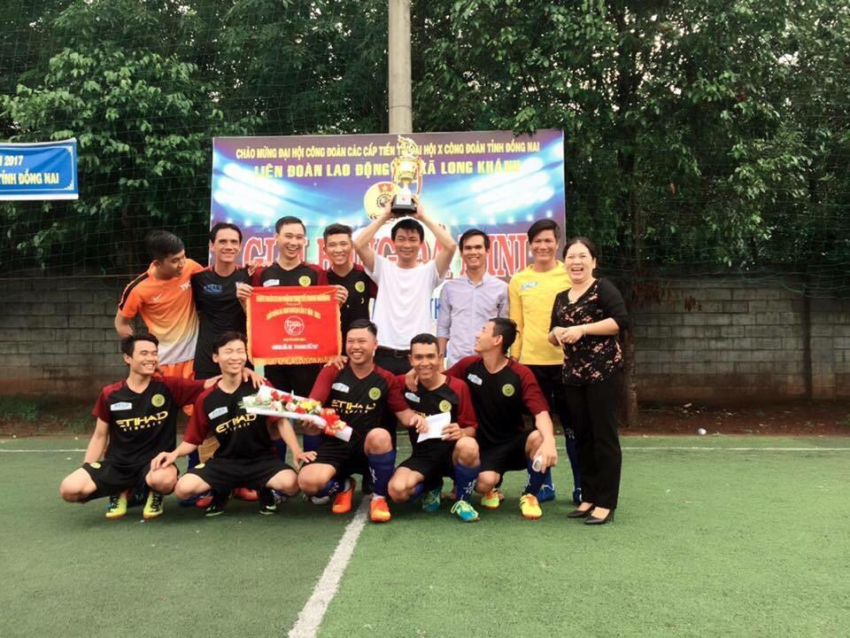 ATAD Dong Nai won the championship