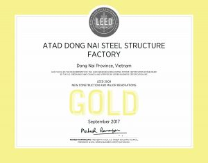 LEED GOLD ATAD Dong Nai office