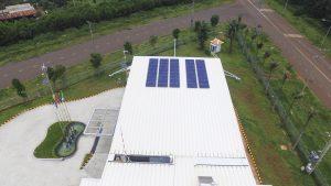 Solar panel system - ATAD Dong Nai office