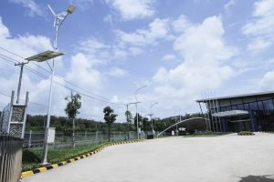 Wind solar hybrid outdoor lighting - ATAD Dong Nai factory 2