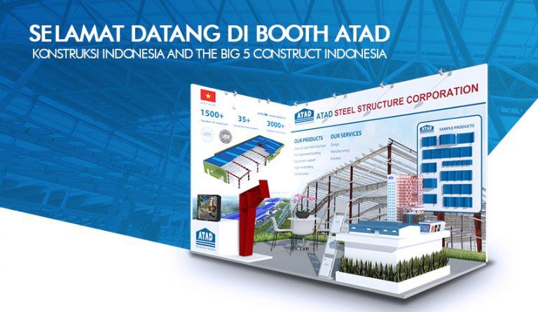 Kami mengundang Anda ke booth ATAD di Konstruksi Indonesia and The Big 5 Construct Indonesia 2017