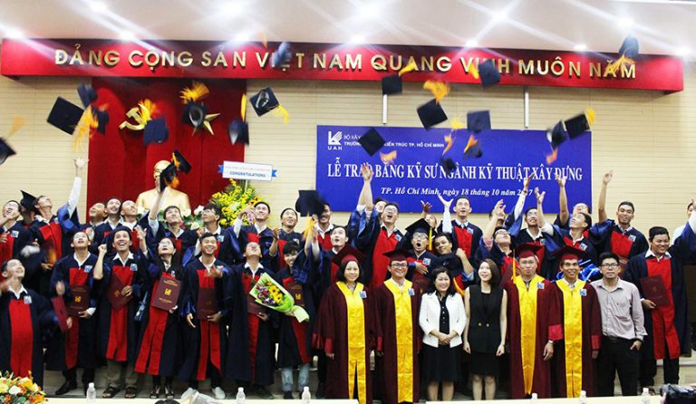 ATAD presented scholarships to young graduate engineers of University of Architecture HCMC