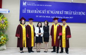 ATAD's representatives took photos faculty members