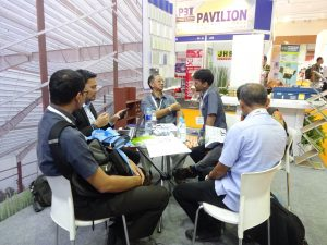 ATAD team gave visitors the professional consultancy