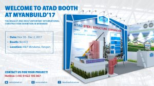 Welcome to visit ATAD's booth at Myanbuild 2017