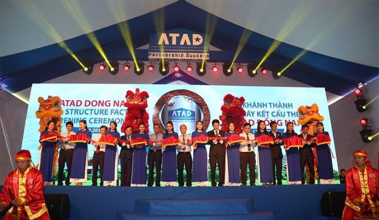 Khánh thành ATAD Đồng Nai - nhà máy kết cấu thép LEED Gold đầu tiên tại châu Á