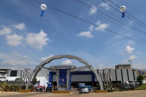 Main gate of ATAD Dong Nai factory in the opening ceremony