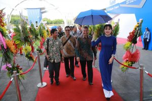 Welcome customers to ATAD Dong Nai opening ceremony