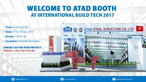 Welcome to ATAD booth at International Build Tech 2017