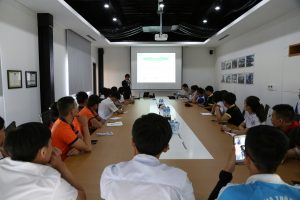 Students visited ATAD Dong Nai factory
