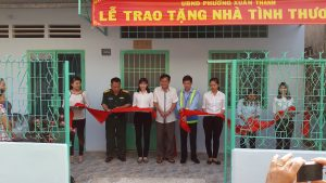 ATAD presented houses of gratitude in Xuân Thanh ward 1