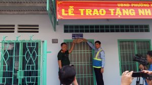 ATAD presented houses of gratitude in Xuân Thanh ward 3
