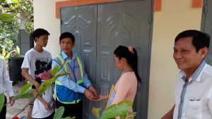 ATAD presented houses of gratitude in Hang Gon ward 2