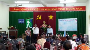 ATAD presented Tet gifts to the Blind Association of Long Khanh Town 1