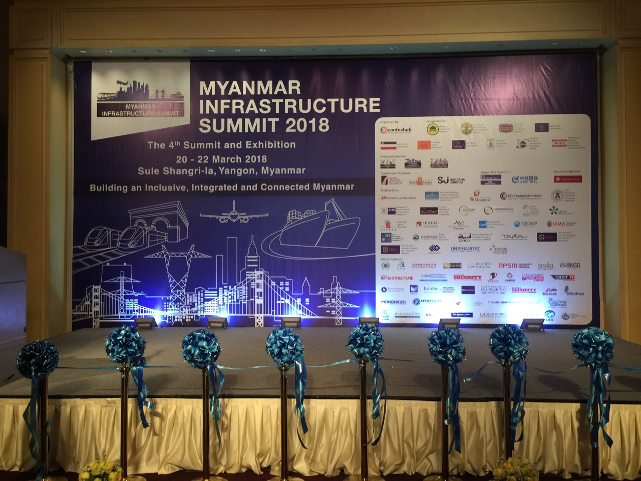 ATAD Myanmar joined Myanmar Infrastructure Summit 2018
