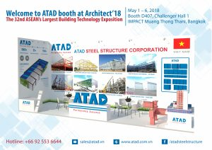 Visit ATAD Booth at Architect'18 Bangkok