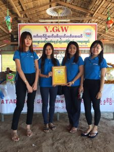 ATAD representatives received Certification from YGW Center