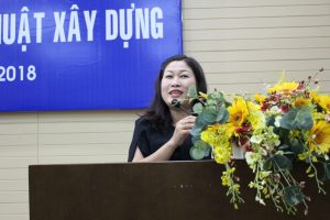 Ms. Tuyen Human Resources Director congratulated young graduate engineers