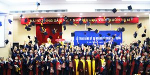 Students majoring in Civil Engineering were excited to join the graduation ceremony