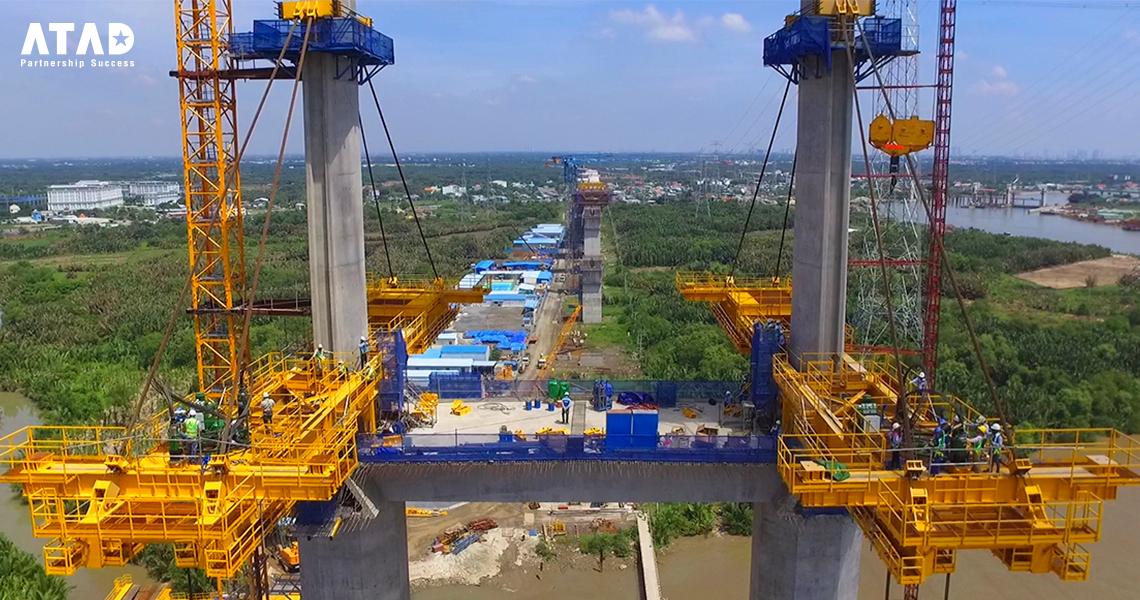 Binh Khanh Cable Stayed Bridge