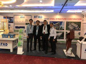 ATAD team at Philconstruct Visayas 2018 1