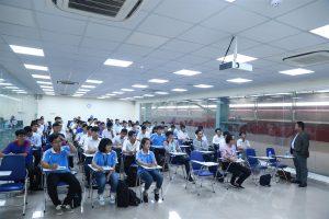The Q&A session between ATAD representatives and students