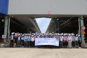 Bach Khoa University students explored ATAD Dong Nai green factory
