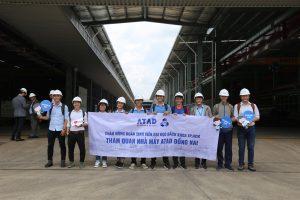 Bach Khoa University students explored ATAD Dong Nai green factory 2