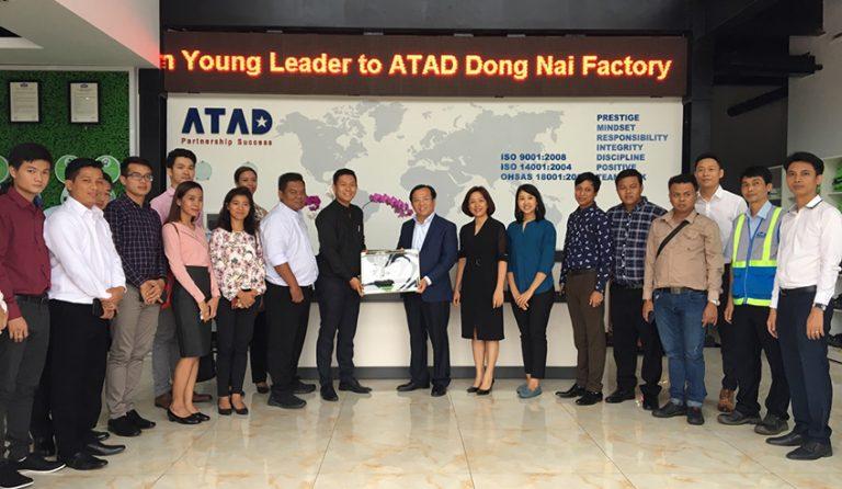 ATAD welcomed Myanmar Rice Federation (MRF) Young leader at Dong Nai factory