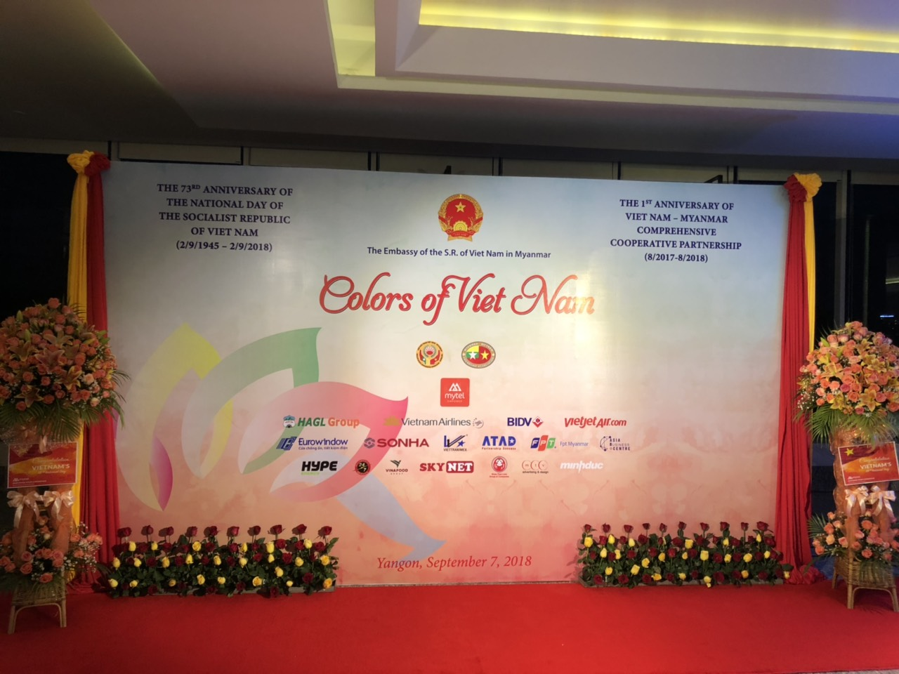 ATAD joined 73rd National Day and 1st anniversary of Vietnam
