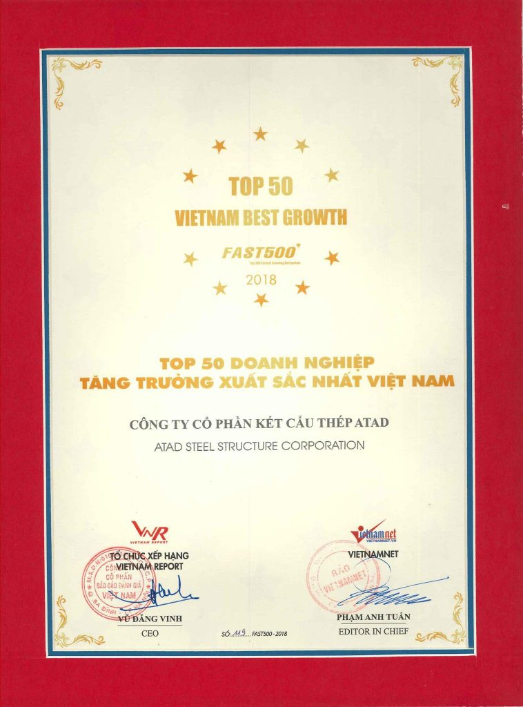 Top 50 Vietnam Best Growth