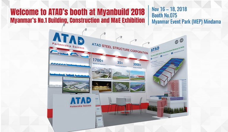 Visit ATAD's booth at Myanbuild 2018