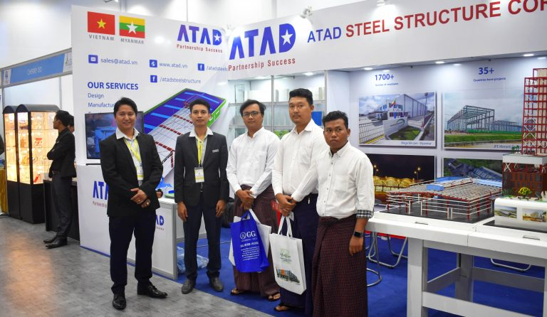 ATAD joined 2018 Myanmar building and construction exhibitions